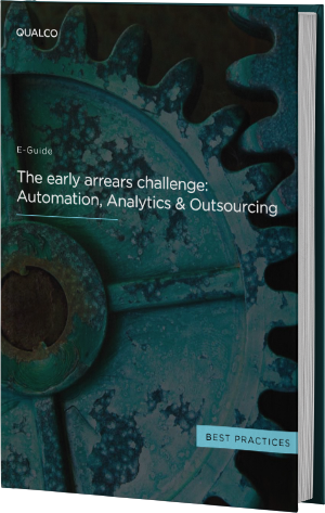 The early arrears challenge - Automation, Analytics & Outsourcing Cover