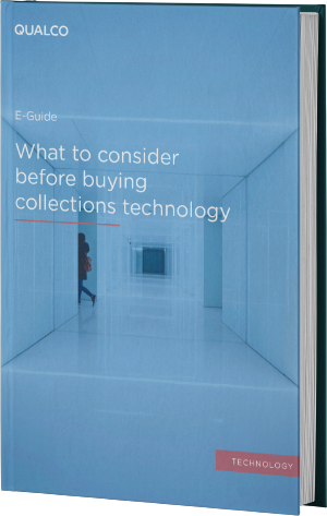 What to consider before buying collections technology cover