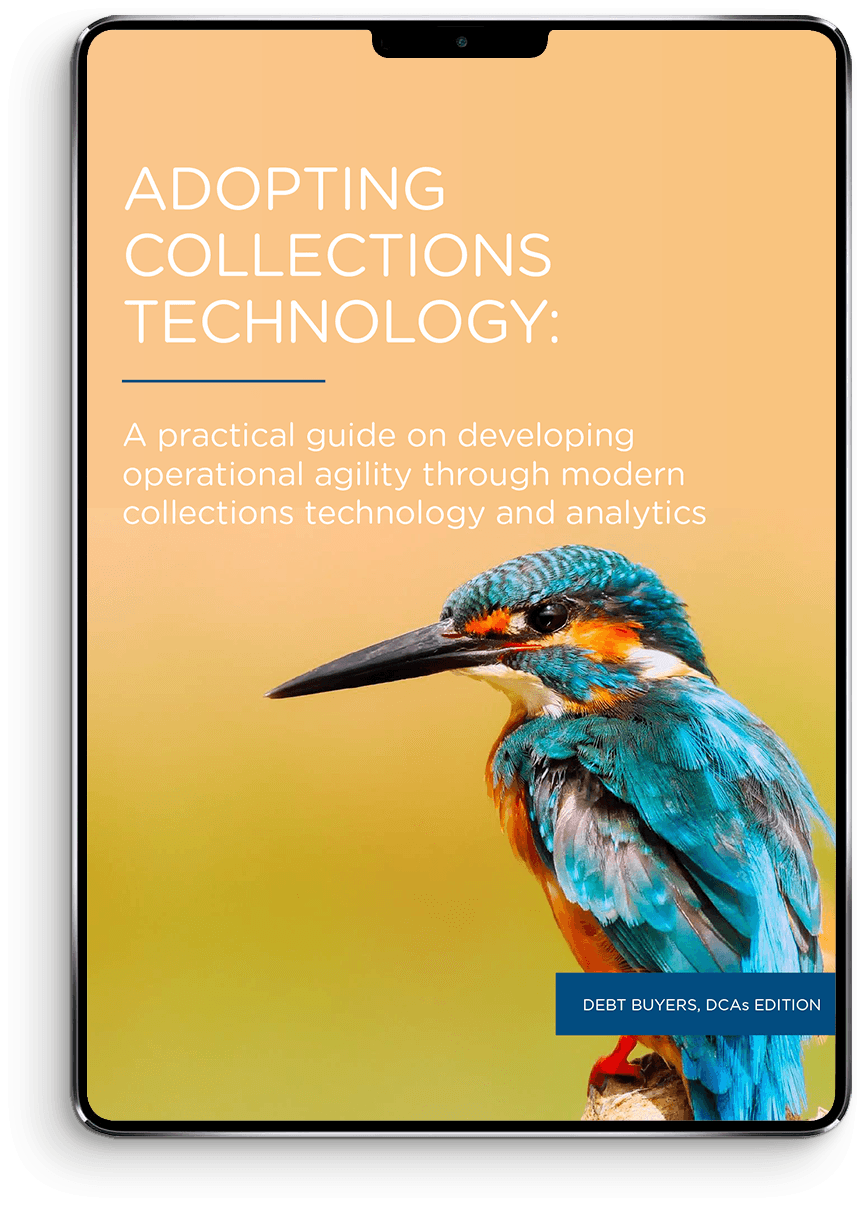 A practical guide on developing operational agility through modern collections technology and analytics Device